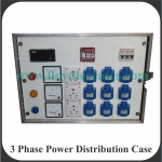 3 Phase Power Distribution Case Front