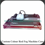 Custom Colour Red Fog Machine Case