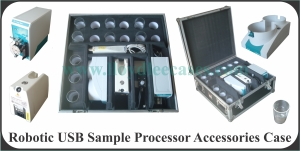Robotic USB Sample Processor Accessories Case.