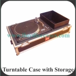 Turntable Case with Storage